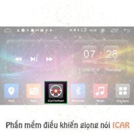 Phần mềm điều khiển giọng nói ICAR dành cho đầu DVD Android ô tô