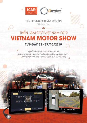 """THƯ MỜI: Tham gia triển lãm ô tô Việt Nam 2019 """"VIETNAM MOTOR SHOW"""""""