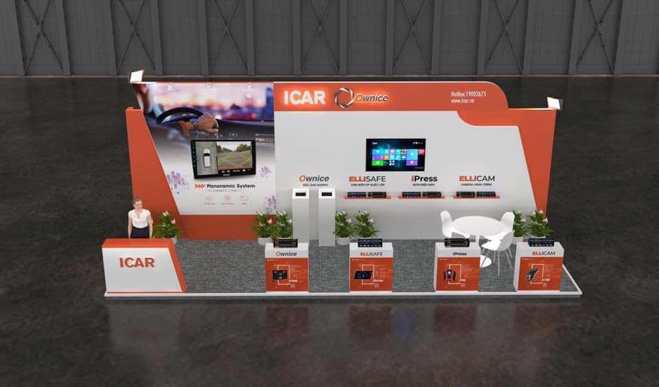 Vị trí gian hàng của iCar Việt Nam tại sự kiện