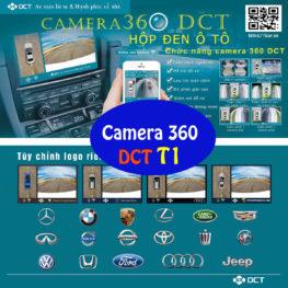 Camera hành trình 360 độ DCT phiên bản T1 tính năng cơ bản