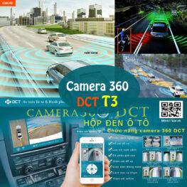 Camera hành trình 360 độ DCT phiên bản T3 tính năng đầy đủ