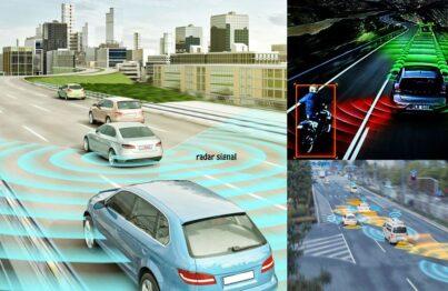Công nghệ cảm biến cảnh báo điểm mù sử dụng sóng Radar