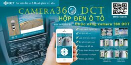 Camera hành trình 360 độ ô tô DCT