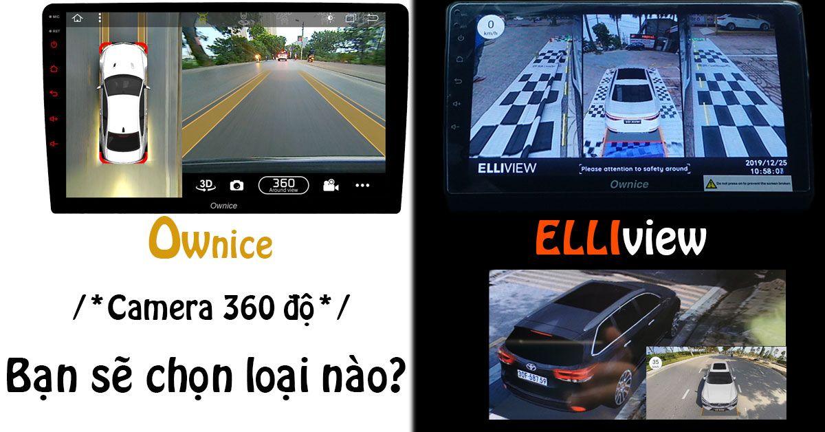 Camera hành trình 360 độ ô tô loại nào tốt nhất?
