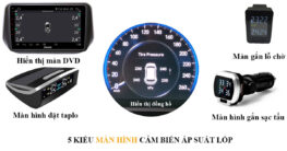 Những kiểu màn hình hiển thị của cảm biến áp suất lốp
