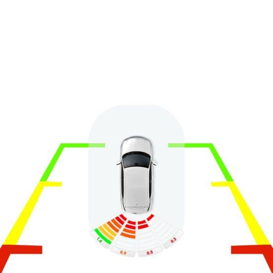 Cảm biến lùi hỗ trợ đỗ xe tránh va chạm 4 mắt E Serial E100