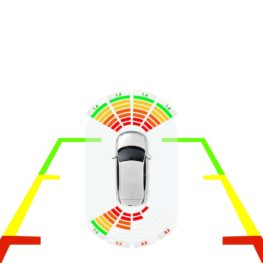 Cảm biến lùi hỗ trợ đỗ xe tránh va chạm ICAR Parking System E Serial E200