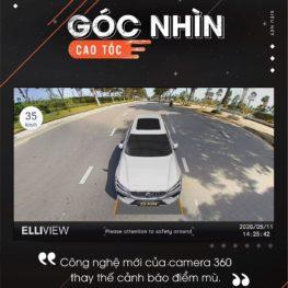 Camera 360 ELLIVIEW V4 góc nhìn nghiêng