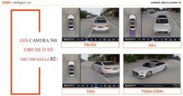 Giá camera 360 cho xe ô tô