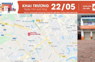 Khai trương showroom trải nghiệm sản phẩm đồ chơi ô tô đầu tiên tại Hà Nội