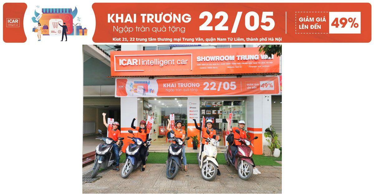 Roadshow khai trương showroom trải nghiệm phụ kiện đồ chơi công nghệ ô tô Hà Nội