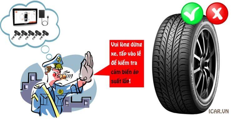Cảm biến áp suất lốp có phải là bắt buộc cho xe ô tô hay không?