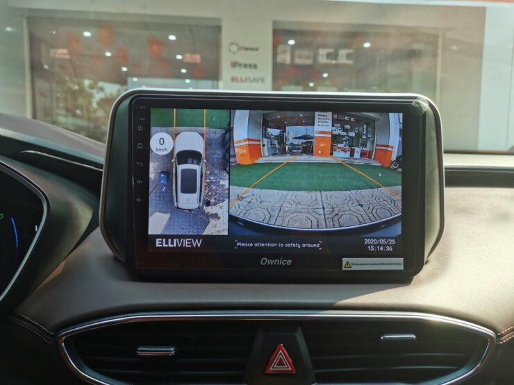 Camera 360 Elliview V4 mới của ICAR Việt Nam lắp trên Santafe 2020