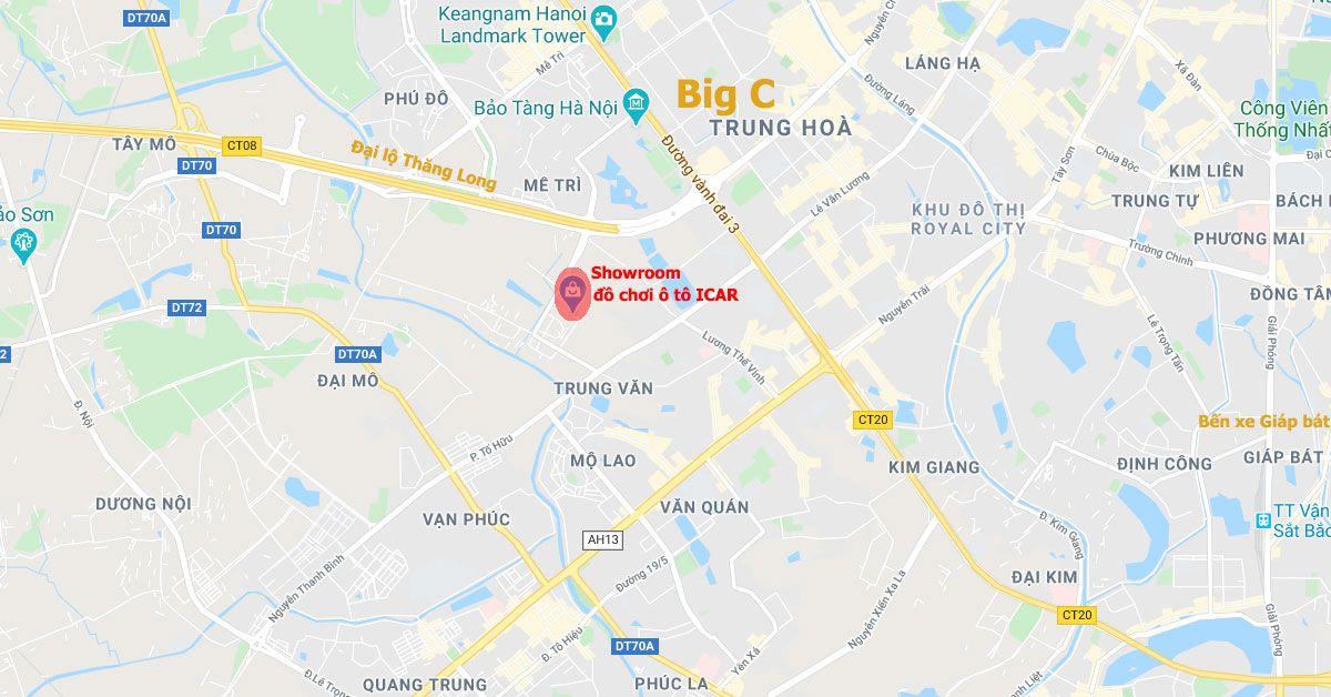 Địa chỉ Showroom đồ chơi ô tô tại Hà Nội