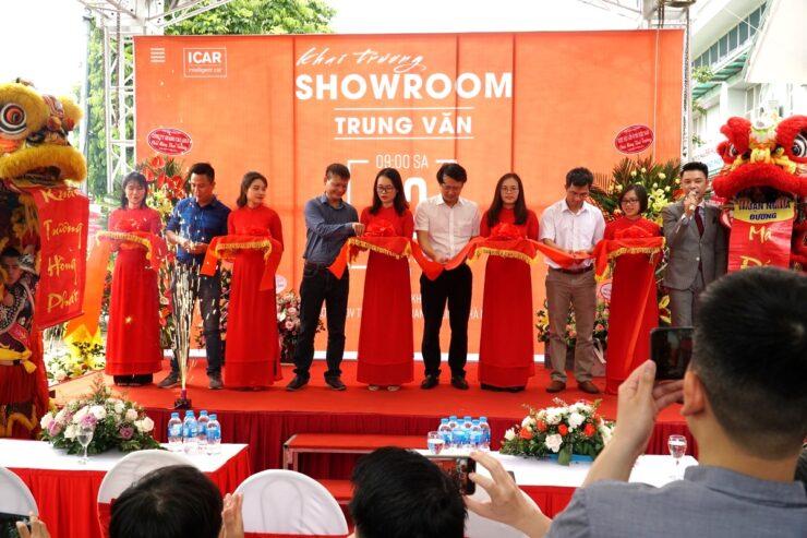 Lễ cắt băng khánh thành Showroom trải nghiệm đồ chơi phụ kiện ô tô tại Trung Văn, Nam Từ Liêm, Hà Nội