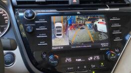 Lắp Camera 360 Elliview V4 trên Camry 2.5 2020 màn hình nguyên bản