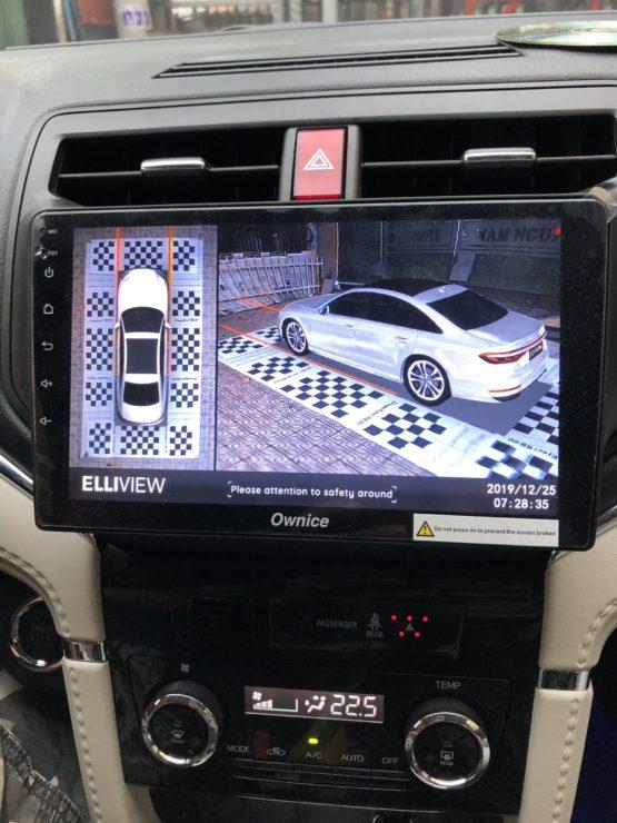 Honda Odyssey: Lắp đầu android Ownice C960 và camera 360 Elliview V4