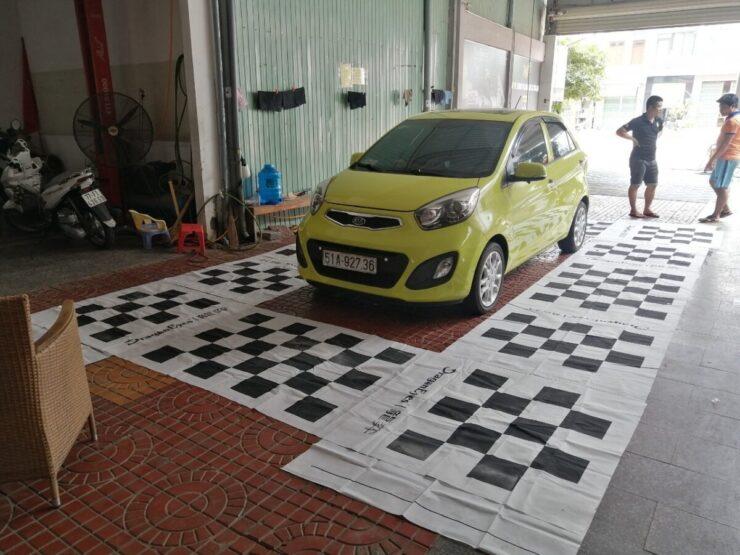Chiếc xe KIA Morning lột xác nhờ Camera 360 lắp tại Gara ô tô Đông Á