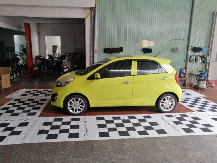 [Bình Định] Chiếc xe KIA Morning tại Gara ô tô Đông Á lột xác nhờ Camera 360