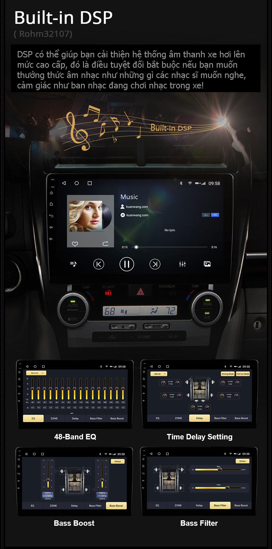 DSP màn hình C970