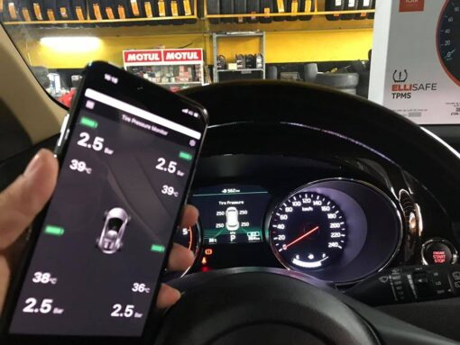 ELLISAFE i30 - Cảm biến áp suất lốp theo xe KIA Sedona 2020