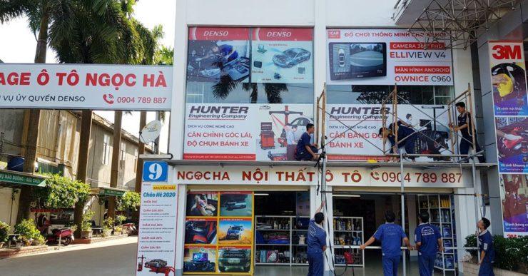 Garage ô tô Ngọc Hà tại thành phố Vinh - Nghệ An