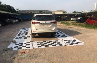 Lắp camera 360 ElliView V4 cho xe Toyota Fortuner 2020 tại Green Auto Mễ Trì Hà Nội