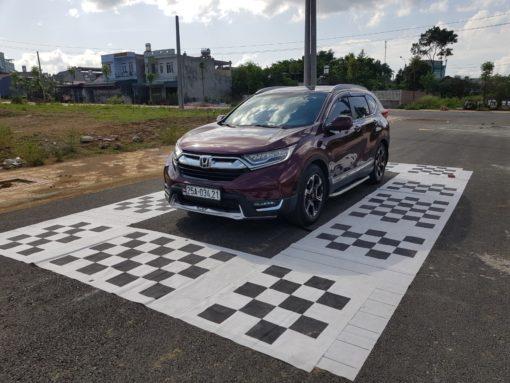 Cận cảnh lắp camera 360 độ cho xe Honda CRV tại Lai Châu