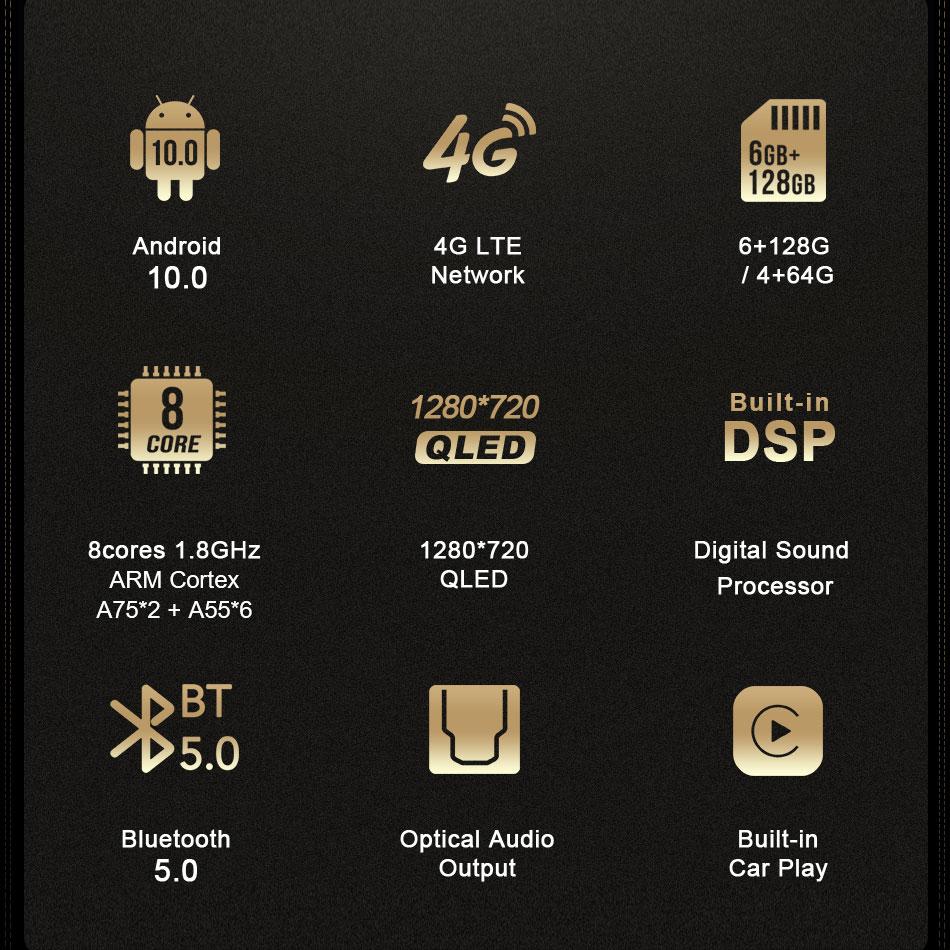Cấu hình và tính năng màn hình Ownice C970