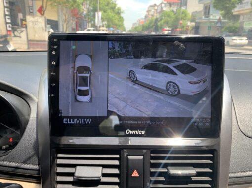 Camera 360 Elliview V4 có thể biến chiếc Vios thành xe sang