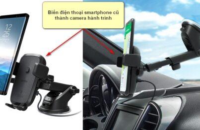 Biến điện thoại smartphone cũ thành camera hành trình ô tô