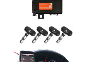 Cảm biến áp suất lốp theo xe ELLISAFE i-Serial i3X
