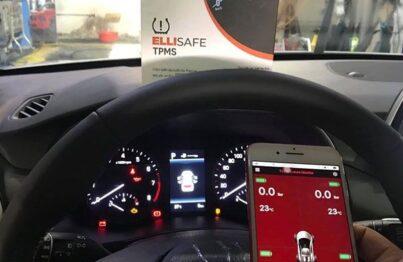 Cảm biến áp suất lốp theo xe Hyudai Tucson 2019