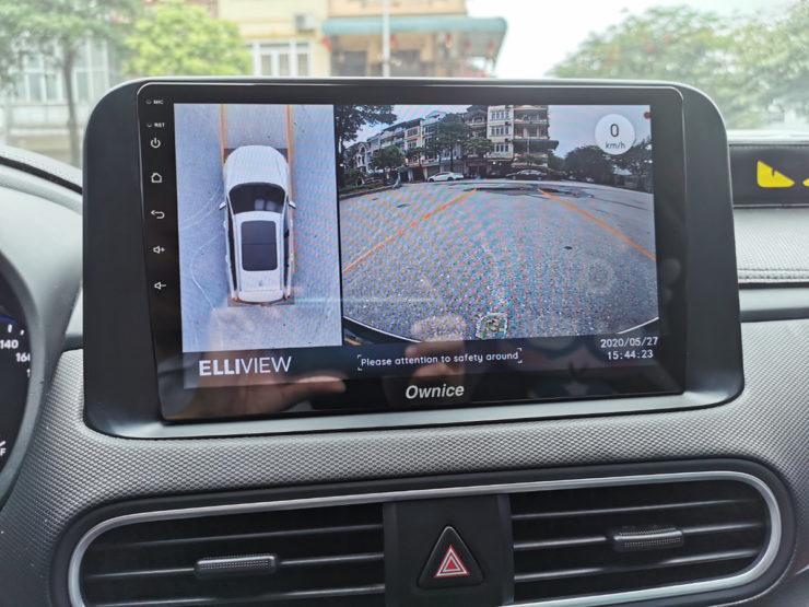 Elliview V4 bản P cho xe Hyundai Kona