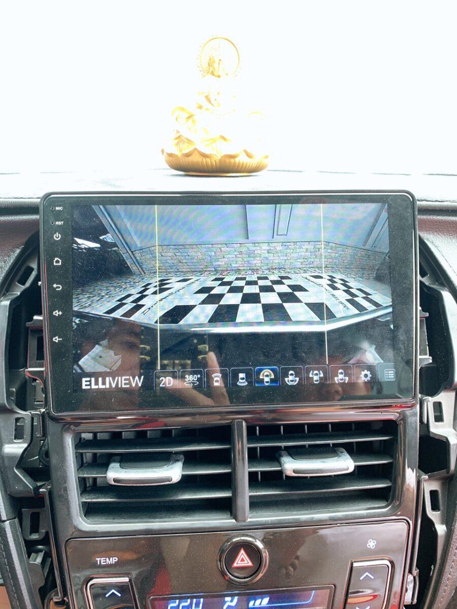 ICAR Việt Nam lắp camera 360 Elliview v4 lắp cho xe Yaris 2019 tại nhà