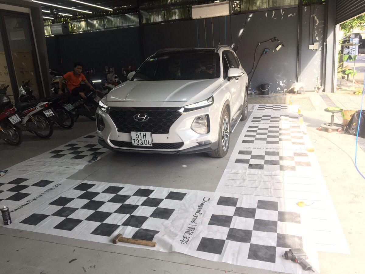 Review Hyundai Santafe 2019 lắp Camera 360 Elliview V4 tại Auto365.vn