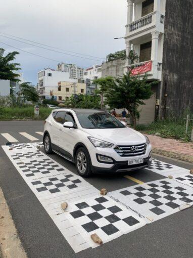 Hình ảnh lắp camera 360 Elliview V4 cho xe Santafe 2015 tại ICAR Sài Gòn