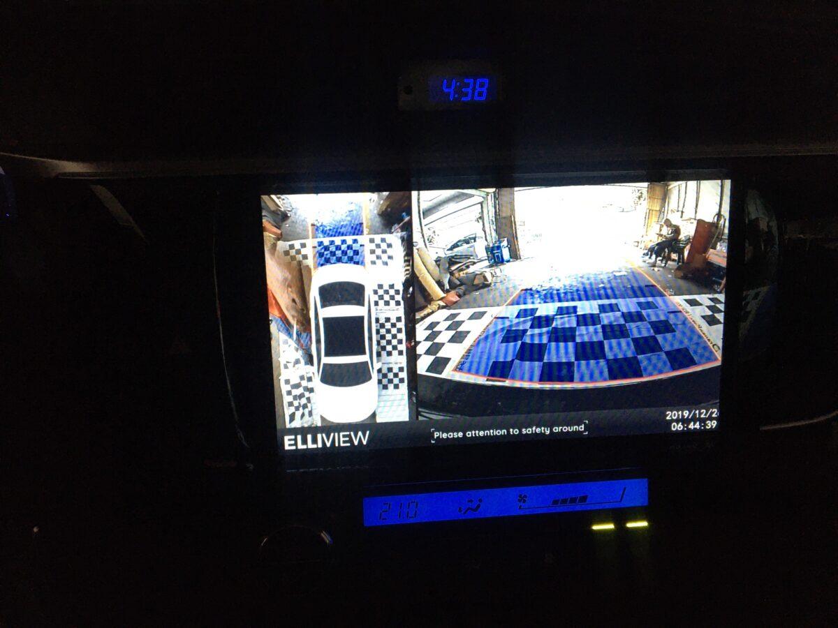 Toyota Corolla Altis 2014 lắp camera 360 Elliview V4