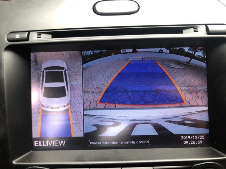 lắp camera 360 elliview v4 cho xe kia k3