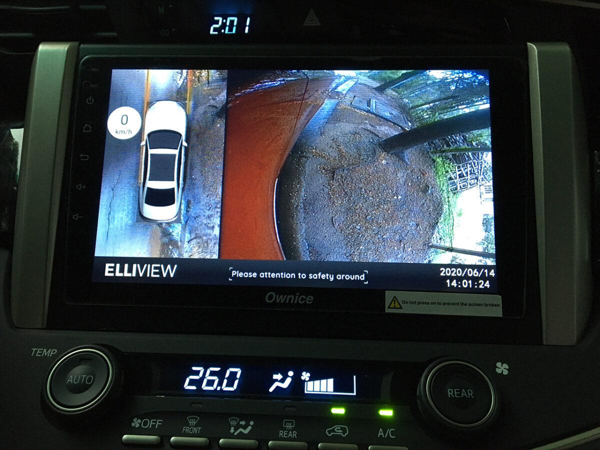 Toyota venturer 2020 lắp camera 360 Elliview V4 tại ICAR Sài Gòn