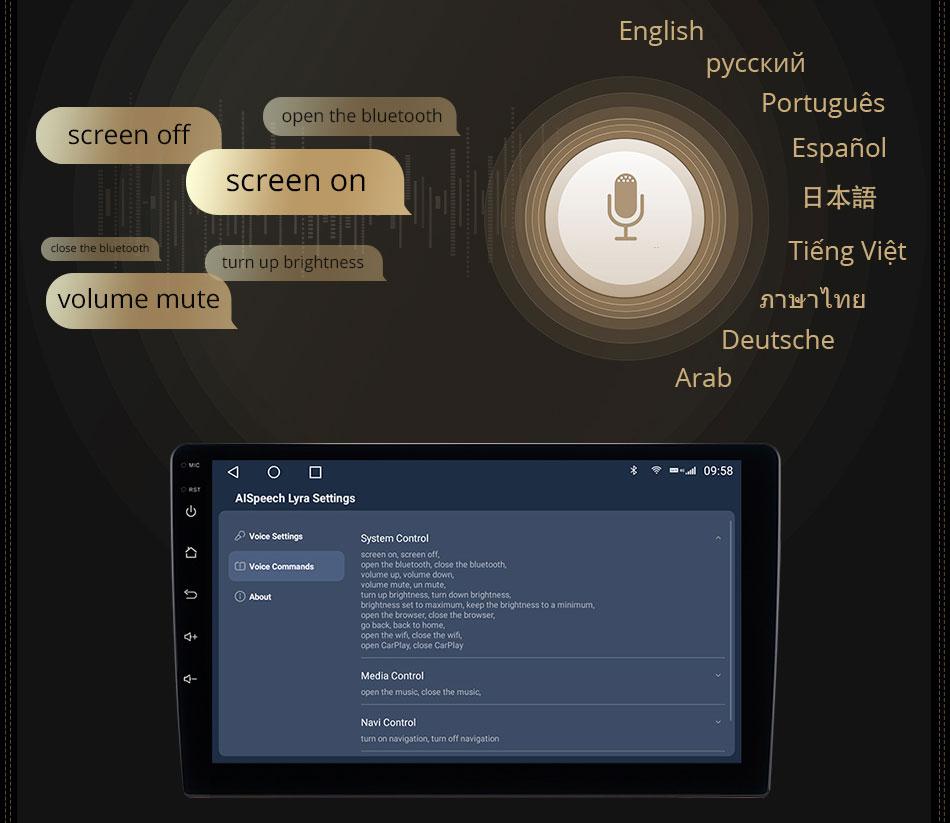 Phần mềm điều khiển âm thanh đầu android C970