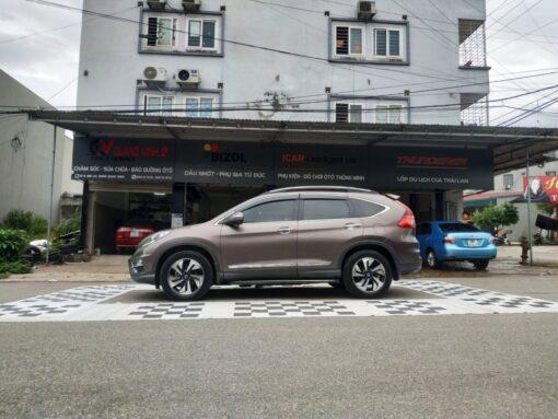 Camera hành trình 360 độ cho xe Honda C-RV 2017 lắp tại lốp Quang Vinh - Thái Nguyên