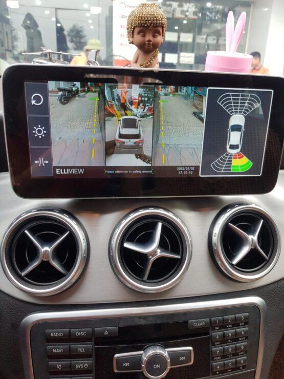 Hiển thị camera 360 trên màn hình Zin của Mercedes