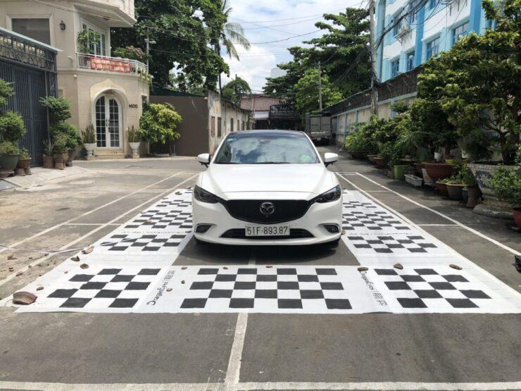 Camera hành trình 360 độ ô tô lắp cho xe Mazda 6 tại Cao Lâm Auto q2 tp HCM
