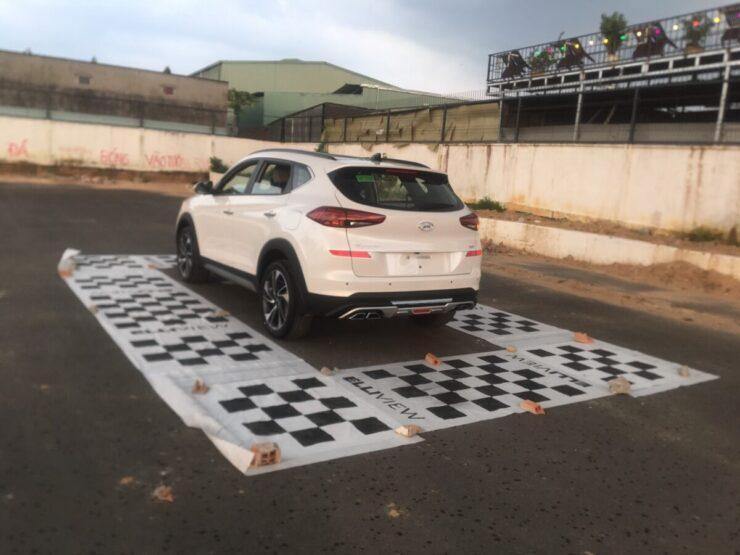 Xe Hyundai Tucson 2020 lắp Camera tại Minh Hùng Auto (Dĩ An, Bình Dương)