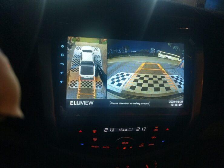 Lắp camera 360 xe Nissan Navara