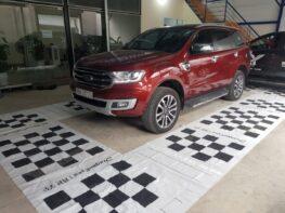 Lắp Camera 360 độ cho xe Ford Everest