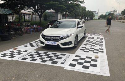 Xe Honda Civic 2018 lắp camera 360 tại NA Auto quận Thủ Đức tpHCM
