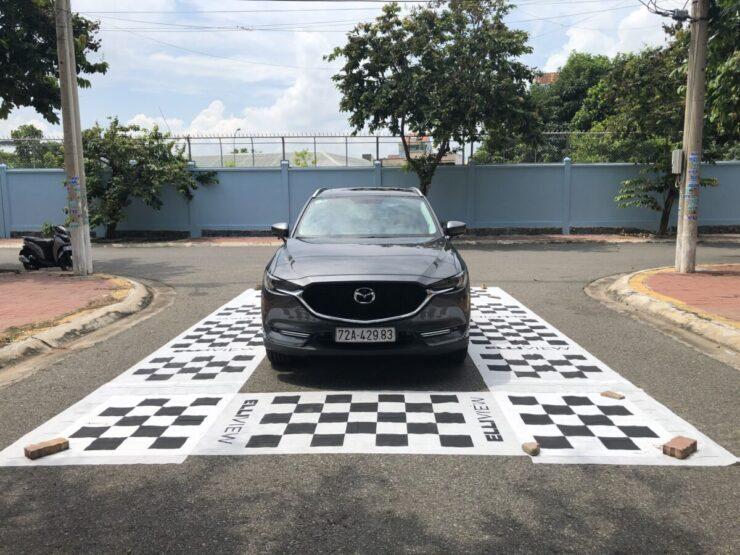 Xe Mazda CX5 lắp được camera 360 độ không?