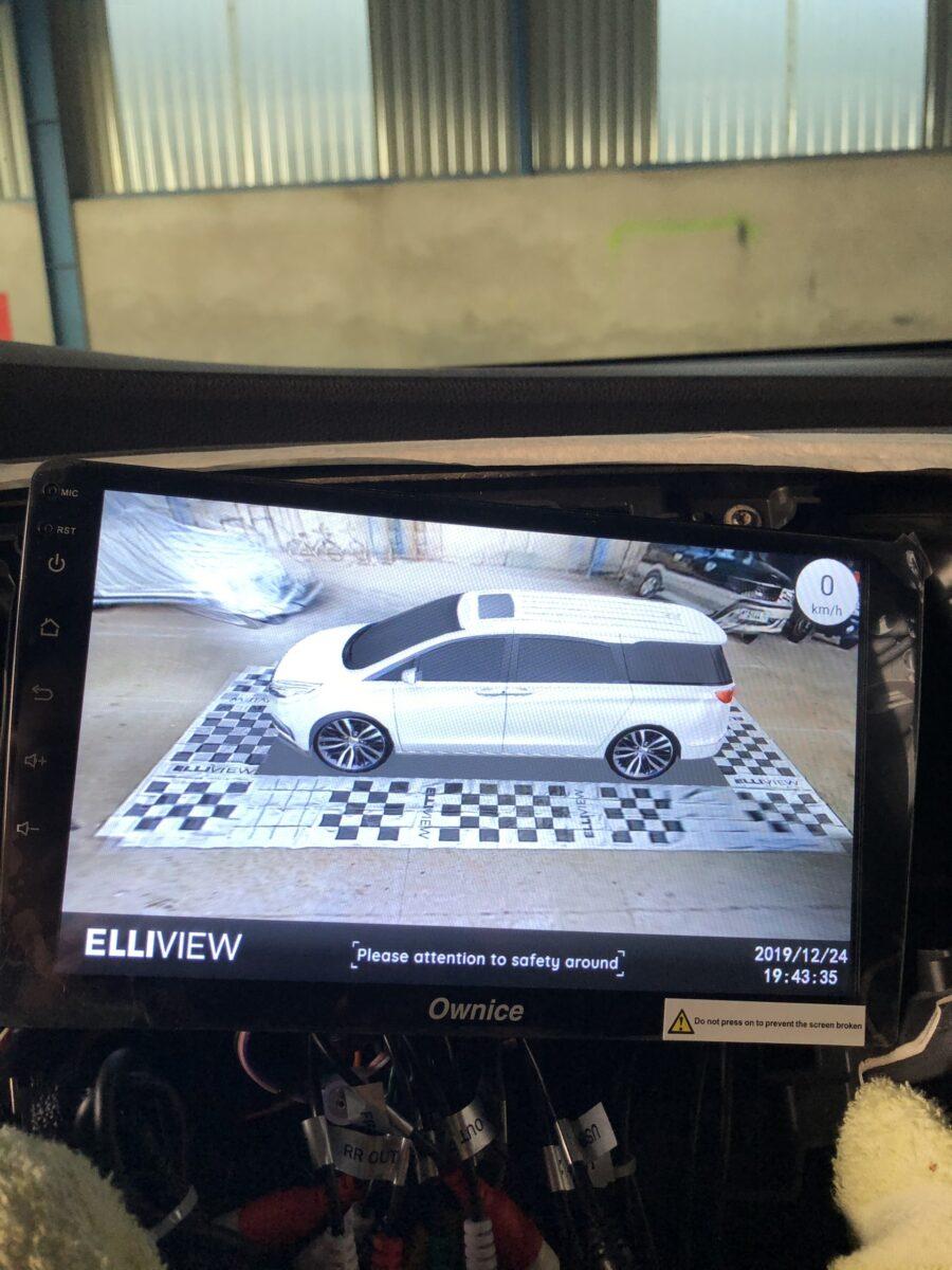 Camera 360 độ cho xe Honda Odyssey